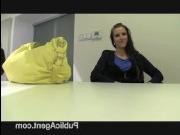 Чешский порно кастинг: 2 попытка закончилась еблей